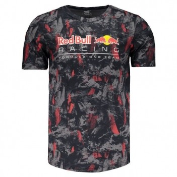 Camiseta Puma Red Bull Racing Allover Grafite
