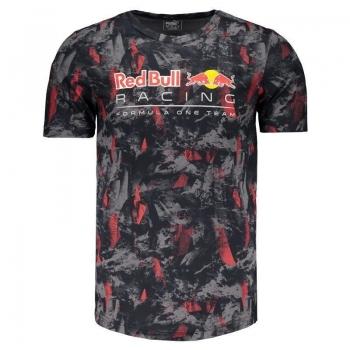 Camiseta Puma Red Bull Racing Allover Grafite