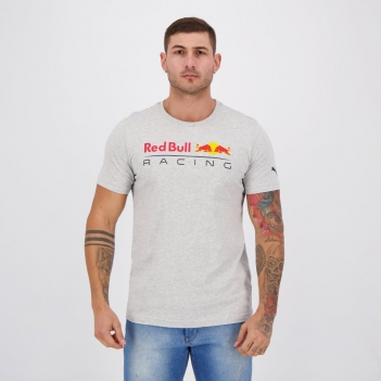 Camiseta Puma Red Bull Racing Authentic Cinza