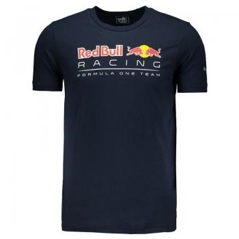 Camiseta Puma Red Bull Racing Graphic Logo Marinho