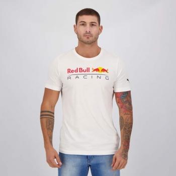 Camiseta Puma Red Bull Racing Start Branca