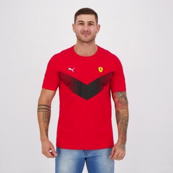 Camiseta Puma Scuderia Ferrari MCS Vermelha