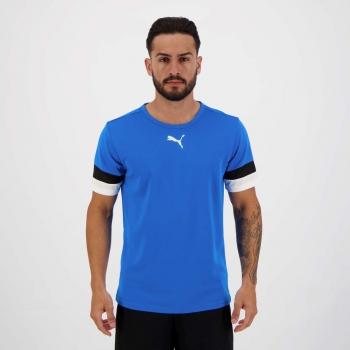 Camiseta Puma Teamrise Azul