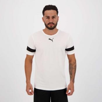 Camiseta Puma Teamrise Branca