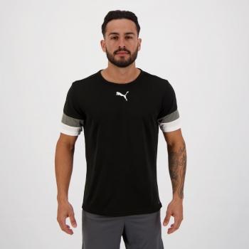 Camiseta Puma Teamrise Preta