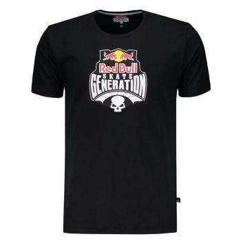 Camiseta Red Bull Generation Preta