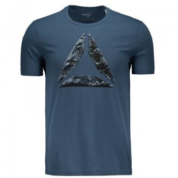 Camiseta Reebok Break Build Azul