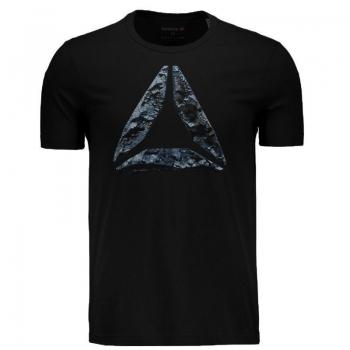 Camiseta Reebok Break Build Preta