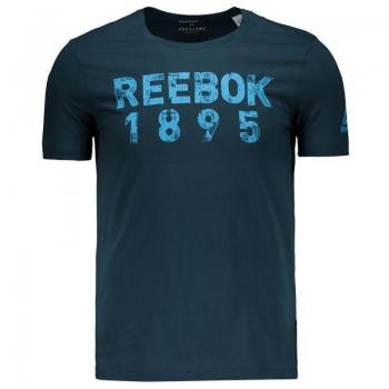 Camiseta Reebok Tape Marinho