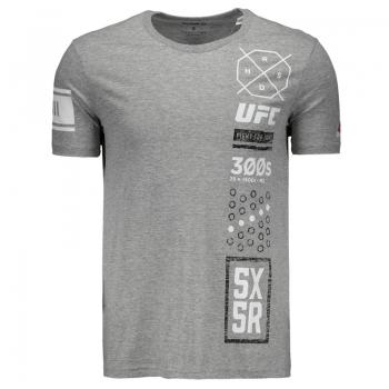 Camiseta Reebok UFC FG Cinza