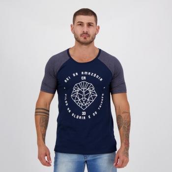 Camiseta Remo Rei da Amazônia Marinho