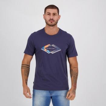Camiseta Rip Curl Mix Filter Marinho