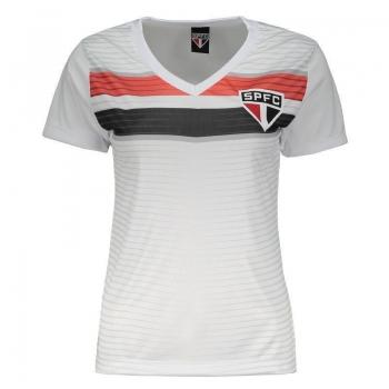 Camisa São Paulo New Race Feminina Branca