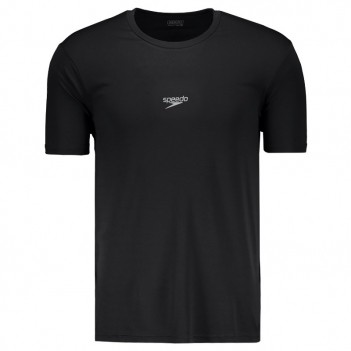 Camiseta Speedo Interlock Basic UV50 Preta