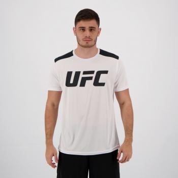 Camiseta UFC Basic Training Branca e Preta