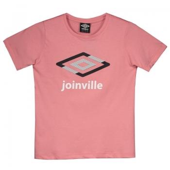 Camiseta Umbro Joinville Casual Diamond Juvenil