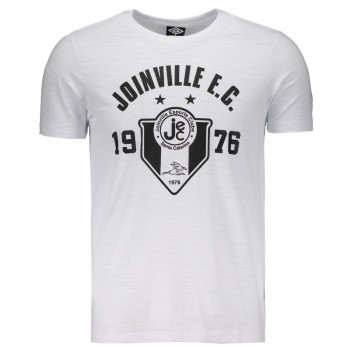 Camiseta Umbro Joinville Casual Mono Badge Branca