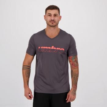 Camiseta Umbro TWR Full Cinza