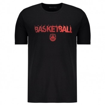 Camiseta Under Armour Basketball Wordmark Preta
