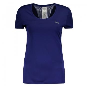 Camiseta Under Armour Flyweight Feminina Azul