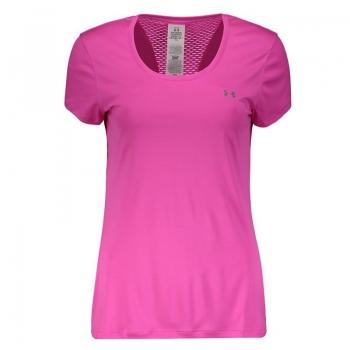 Camiseta Under Armour Flyweight Feminina Rosa