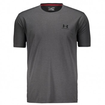Camiseta Under Armour Lockup Grafite