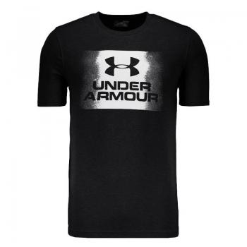Camiseta Under Armour Overspray SS Preta