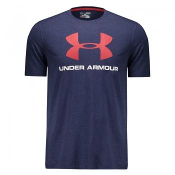 Camiseta Under Armour Sportstyle Logo Marinho