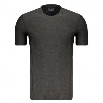 Camiseta Under Armour Supervent Fitted Chumbo