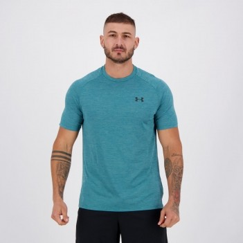 Camiseta Under Armour Tech Twist SS Verde