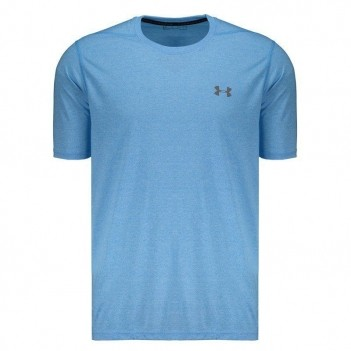 Camiseta Under Armour Threadborne Azul Celeste