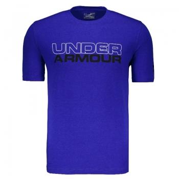 Camiseta Under Armour Wordmark Azul