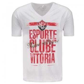 Camiseta Vitória Branca