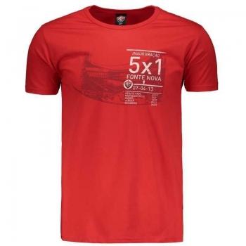 Camiseta Vitória Fonte Nova Vermelha