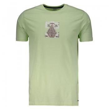 Camiseta Volcom Digipool Verde
