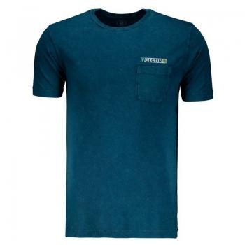 Camiseta Volcom Rebel Radio A Azul