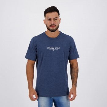 Camiseta Volcom Silk Clock Worker Marinho