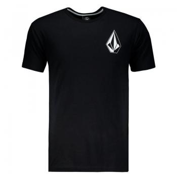 Camiseta Volcom Silk Deadly Stone Preta