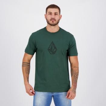 Camiseta Volcom Silk Pixostone Verde