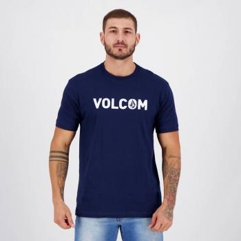 Camiseta Volcom Silk Strong Marinho