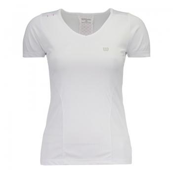 Camiseta Wilson Performance Feminina Branca