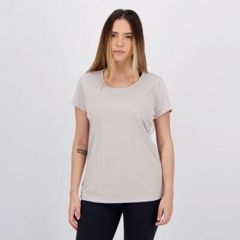 Camiseta Wunder Sports Fitness Feminina Cinza