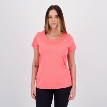 Camiseta Wunder Sports Fitness Feminina Rosa