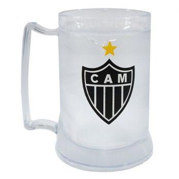 Caneca Gel Atlético Mineiro Incolor Escudo