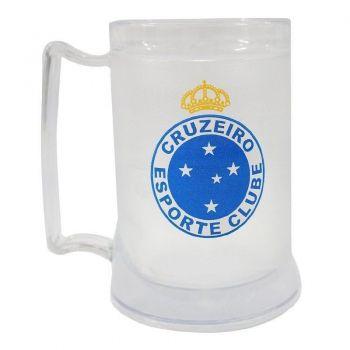 Caneca Gel Cruzeiro Incolor Escudo
