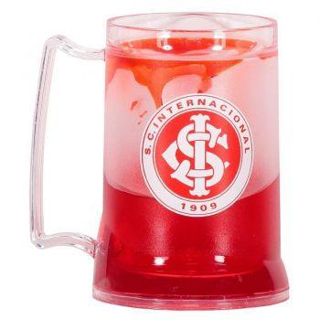 Caneca Gel Internacional Escudo Vermelha