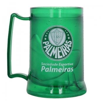 Caneca Gel Palmeiras Escudo Verde Escuro