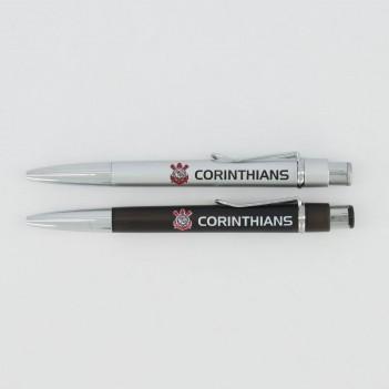 Caneta Corinthians Conjunto 12 Furos
