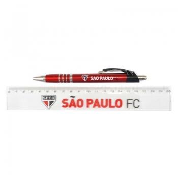 Caneta e Régua São Paulo Conjunto