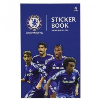 Cartela Com 19 Adesivos Chelsea